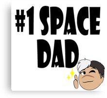 Voltron: #1 Space Dad Canvas Print