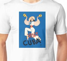 1935 Visit Cuba Dancer Tourism & Travel Poster Unisex T-Shirt