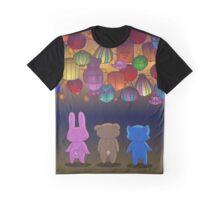 Lantern Festival Friends Graphic T-Shirt
