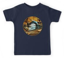 Old Fashioned Sewing Machine Kids Tee