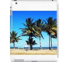 Ocean beach front view iPad Case/Skin