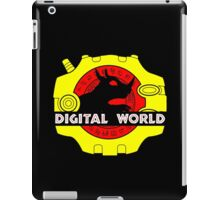 Digital World (Black) iPad Case/Skin