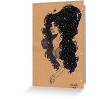 Star Girl VIII Greeting Card