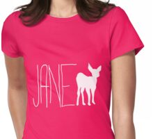 Life Is Strange: Jane Doe (Max's 1st Shirt; White) Womens Fitted T-Shirt