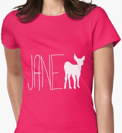 Life Is Strange: Jane Doe (Max's 1st Shirt; White) Womens Fitted T-Shirt