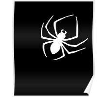 Cool Spider Silhouette Print Novelty Graphic Poster