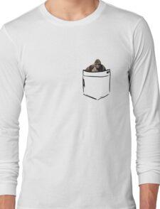 Harambe in Pocket  Long Sleeve T-Shirt