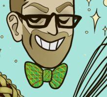 Chef Alton Brown Sticker Sticker