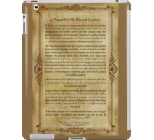 A Prayer For My Beloved Country iPad Case/Skin