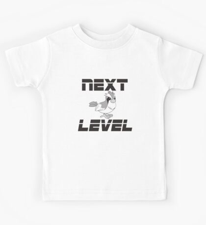 """Next Level"" Pidgey  Kids Tee"