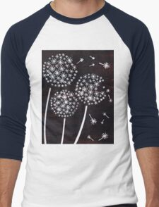 Dandelion Puff Men's Baseball ¾ T-Shirt