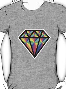 colorful diamond T-Shirt