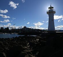 Wollongong Lighthouse by Stuart Daddow Photography
