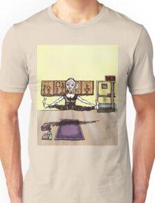 Flying Goat Pose Unisex T-Shirt