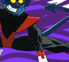 The Incredible Nightcrawler! Sticker
