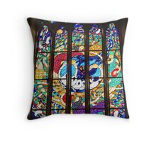 Magdalene Window at St Peter's Cathedral Adelaide Throw Pillow