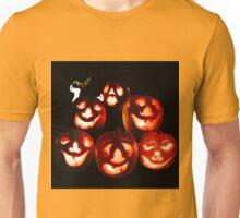 Happy Halloween! A jack-o-lantern quintet Unisex T-Shirt