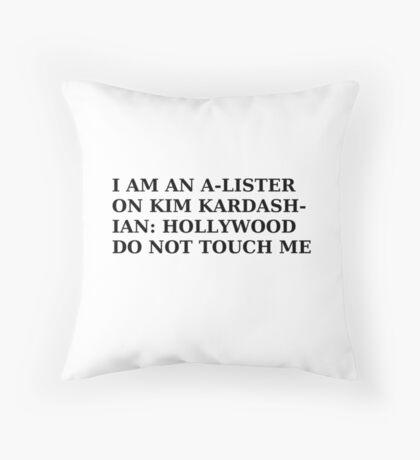 A-Lister Throw Pillow