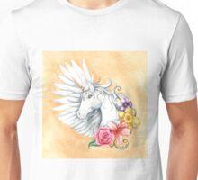 Floral Unicorn Unisex T-Shirt