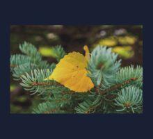 Autumn Poplar Leaf Baby Tee