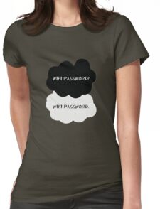 Wifi Password Womens Fitted T-Shirt