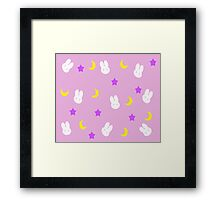 Usagi's Blanket Framed Print