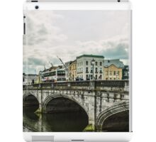 Saint Patrick's Bridge Cork, Ireland iPad Case/Skin