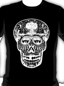 WAR SKULL T (REVERSED OUT DESIGN) T-Shirt
