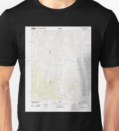 USGS TOPO Map Arizona AZ Blye Canyon NE 20111109 TM Unisex T-Shirt