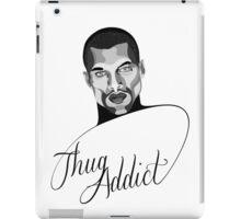 Thug Addict #1 v.3 iPad Case/Skin