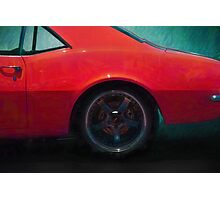 Camaro Rear Quarter Photographic Print