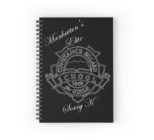 Manhattens Elite Spiral Notebook