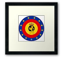 Coat of Arms of Belgian Armed Forces  Framed Print
