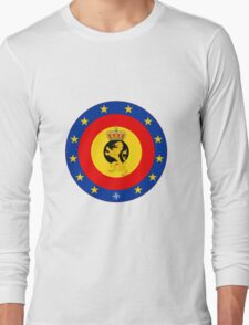 Coat of Arms of Belgian Armed Forces  Long Sleeve T-Shirt
