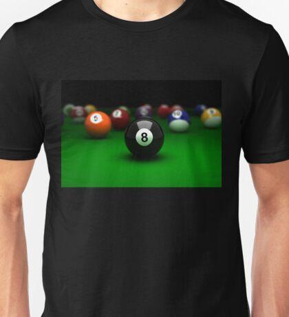 Number Eight, Billiards Unisex T-Shirt