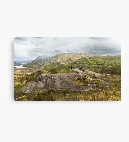 MacGillycuddy's Reeks, County Kerry, Ireland Canvas Print