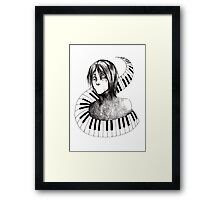 Seccom Masada-sensei Framed Print
