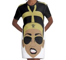Cool Neffy Graphic T-Shirt Dress