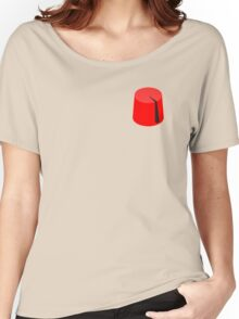 Red Fez of the Moors | Moorish American Clothing Women's Relaxed Fit T-Shirt