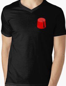 Red Fez of the Moors | Moorish American Clothing Mens V-Neck T-Shirt