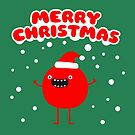 Funny Santa Claus - Merry Christmas by badbugs