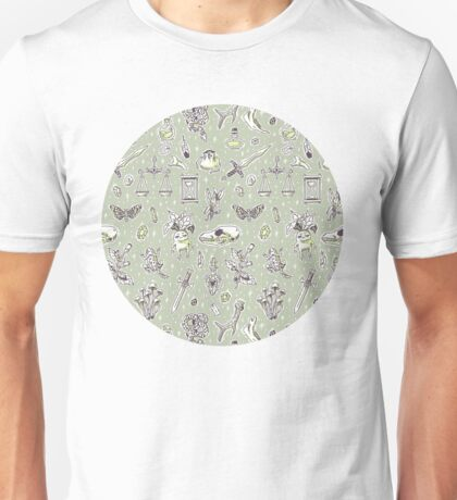 Witchcraft Pattern Unisex T-Shirt