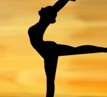 Ballet Silhouette Sticker