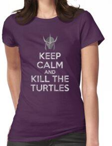 Keep Calm Oroku Saki Womens Fitted T-Shirt