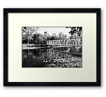 Hoods Reflections Framed Print