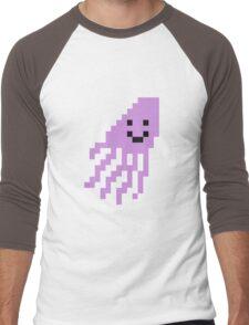 Unturned Squid Men's Baseball ¾ T-Shirt