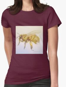 Busy Bee by Liz H Lovell Womens Fitted T-Shirt