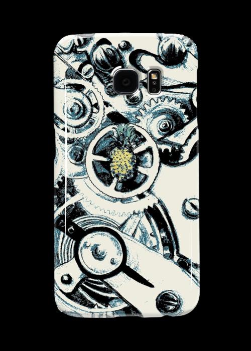 Clockwork Pineapple by artbycaf