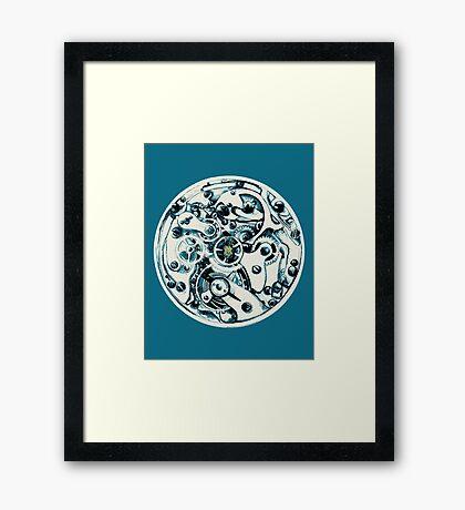 Clockwork Pineapple Framed Print