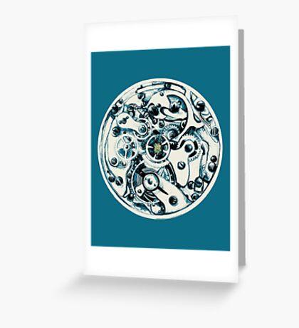 Clockwork Pineapple Greeting Card